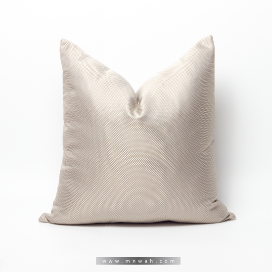 Beige wooded cushion cover